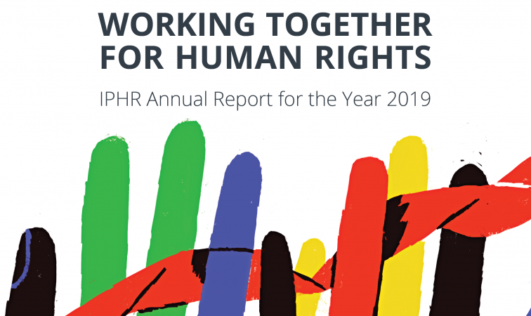 final cover IPHR annual report 19 copy